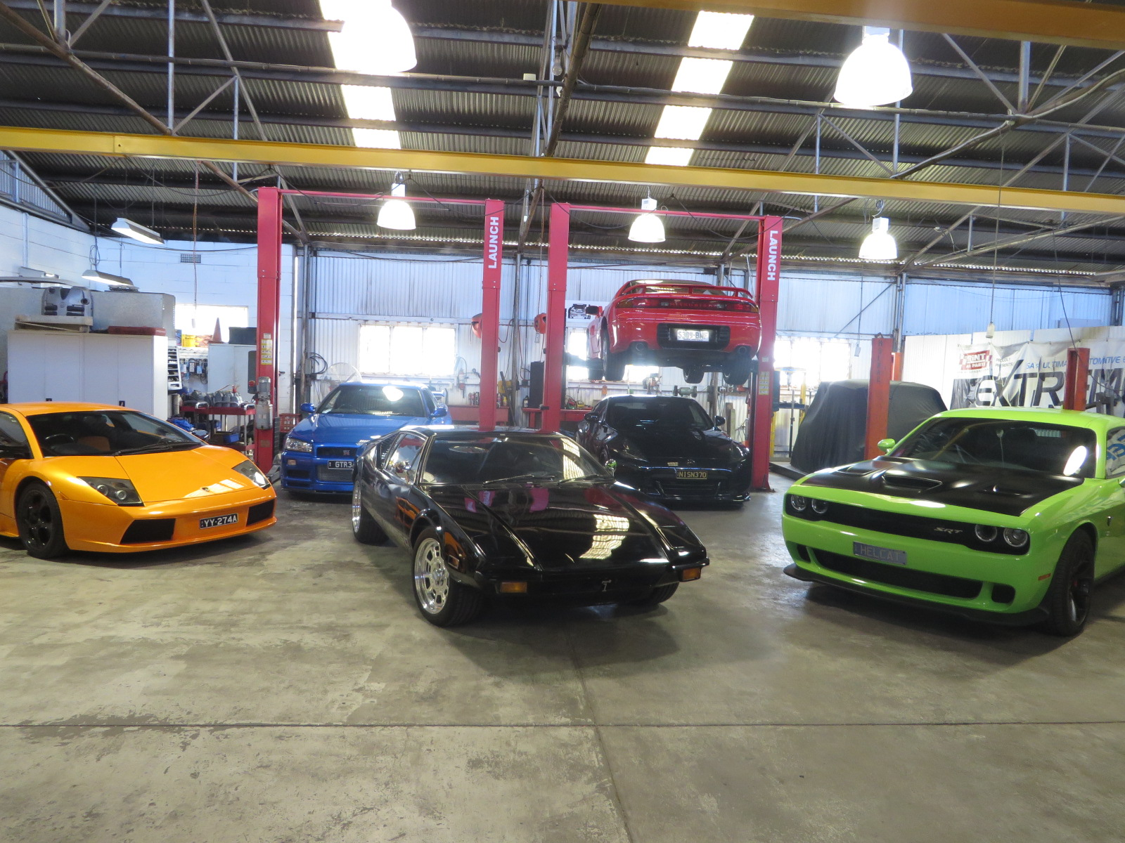 Fate of the furious shoot for Garage fast auto sarcelles